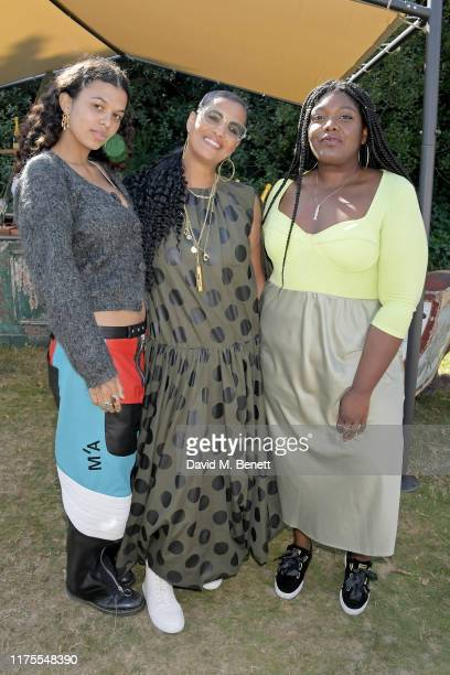 Cosima Neneh Cherry and Yazmin Lacey at Krug Encounters – Rhythm and Ride on September 18 2019 in Sittingbourne England