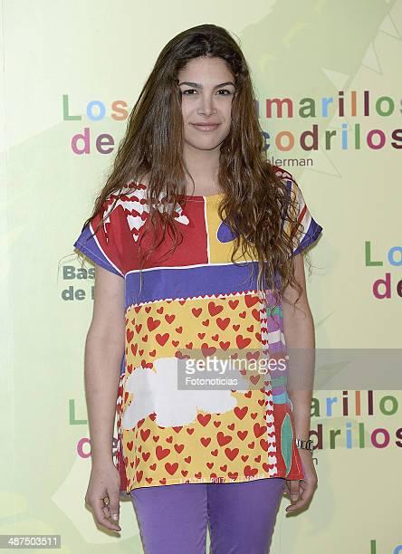 Cosima Ramirez attends the 'Los Ojos Amarillos de los Cocodrilos' premiere the Academia del Cine on April 30 2014 in Madrid Spain