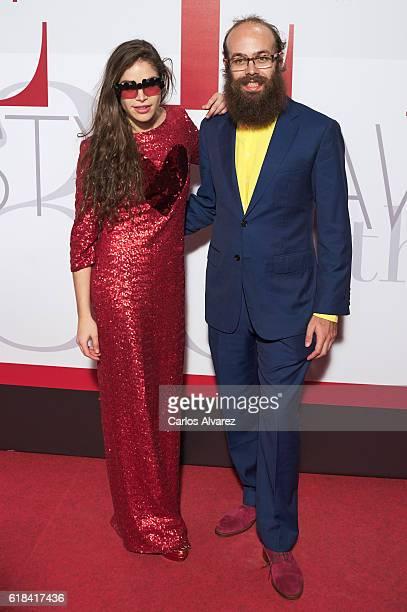 Cosima Ramirez Ruiz de la Prada and Tristan Ramirez Ruiz de la Prada attend ELLE Magazine 30th anniversary party at Circulo de Bellas Artes Club on...