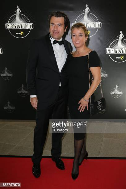 Cosima von Borsody and Bernhard Hock attends the Radio 7 Charity Night at Congress Centrum Ulm on November 12 2016 in Ulm Germany