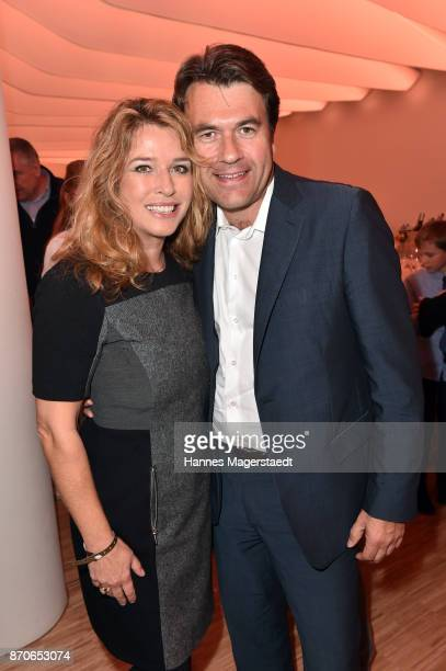 Cosima von Borsody and her husband Bernhard Hock during the world premiere of the horse show 'EQUILA' at Apassionata Showpalast Muenchen on November...