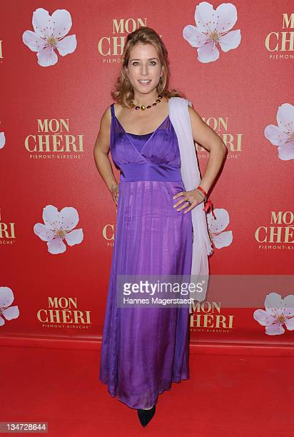 Cosima von Borsody attends the 'Mon Cheri Barbara Day' Charity event at Muellersches Volksbad on December 3 2011 in Munich Germany