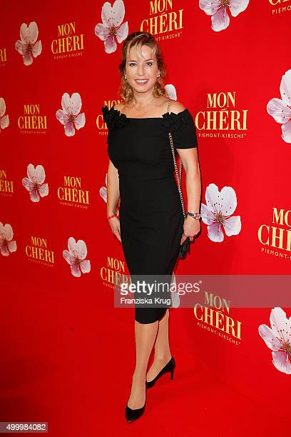 Cosima von Borsody attends the Mon Cheri Barbara Tag 2015 at Postpalast on December 4 2015 in Munich Germany