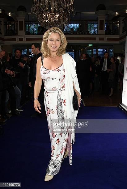 Cosima von Borsody attends the Success for Future Award 2011 at Bayerischer Hof on April 14, 2011 in Munich, Germany.