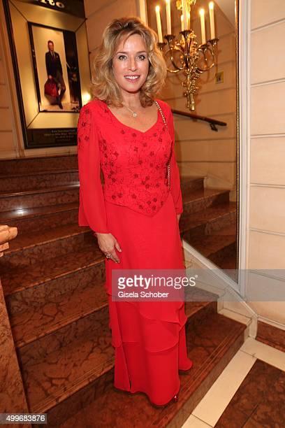 Cosima von Borsody during the Audi Generation Award 2015 at Hotel Bayerischer Hof on December 2, 2015 in Munich, Germany.