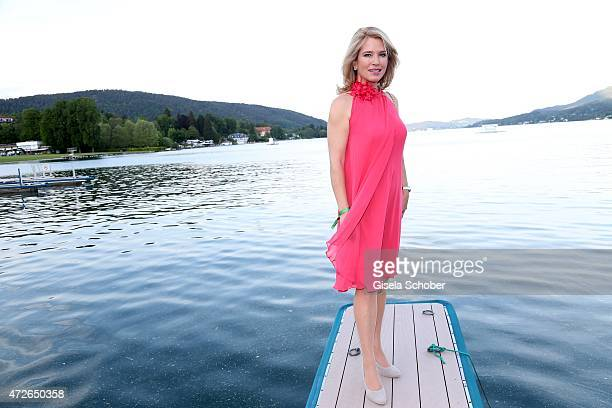 Cosima von Borsody during the 'Ein Schloss am Woerthersee' 25th anniversary gala on May 8 2015 in Velden Austria