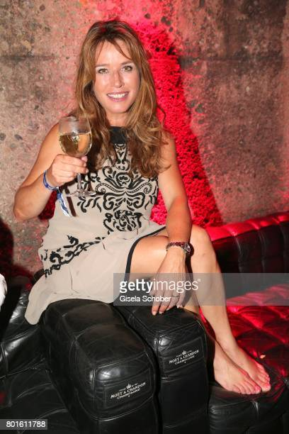 MUNICH GERMANY JUNE 26 Cosima von Borsody during the Movie meets Media Party during the Munich Film Festival on June 26 2017 in Munich Germany
