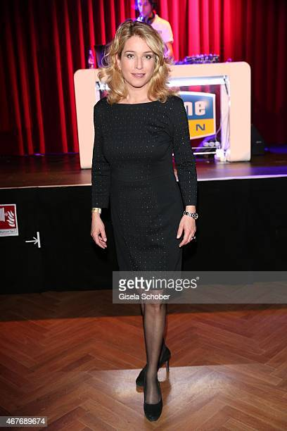 Cosima von Borsody during the premiere of the musical Elisabeth at Deutsches Theatre on March 26 2015 in Munich Germany