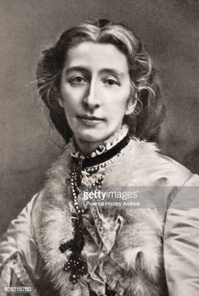 Cosima Wagner born Francesca Gaetana Cosima Liszt 1837 – 1930 Daughter of the Hungarian pianist and composer Franz Liszt and second wife of the...