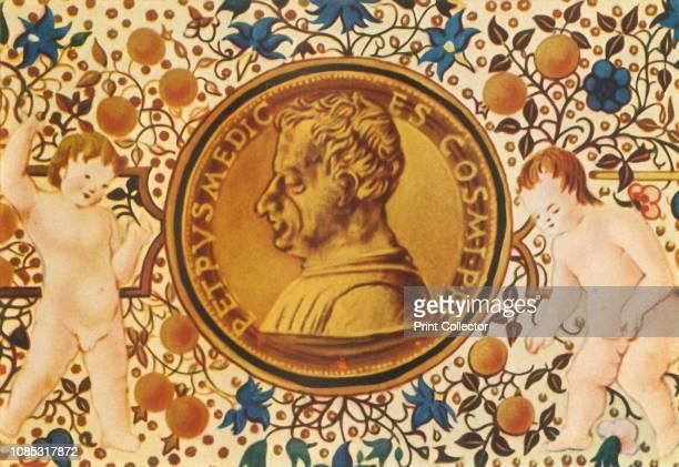 Cosimo De Medici' Portrait of Italian banker and politician Cosimo de' Medici the first member of the Medici political dynasty that served as de...