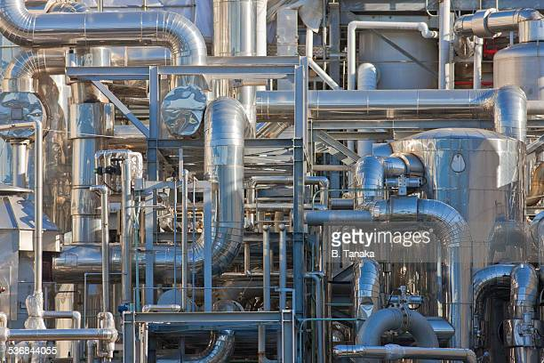 cosmetic chemical plant in kawasaki, japan - image stock pictures, royalty-free photos & images
