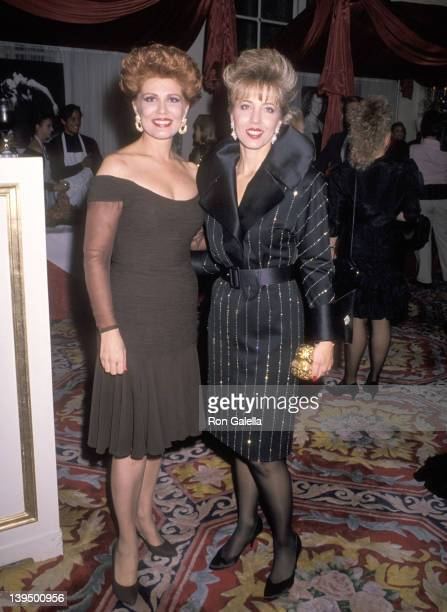 Cosmetic entrepreneur Georgette Mosbacher and her sister Lyn Paulsin attend the Third Annual Gourmet Gala to Benefit the Greater New York March of...