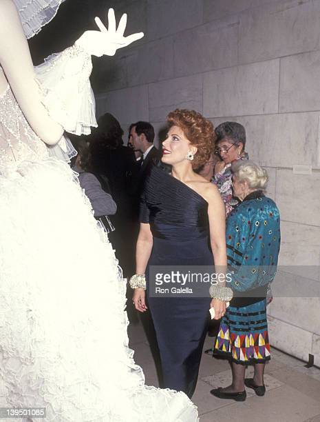 Cosmetic entrepreneur Georgette Mosbacher attends A Decade of Literary Lions The Pride of The New York Public Library The Literary Lions' 10th...