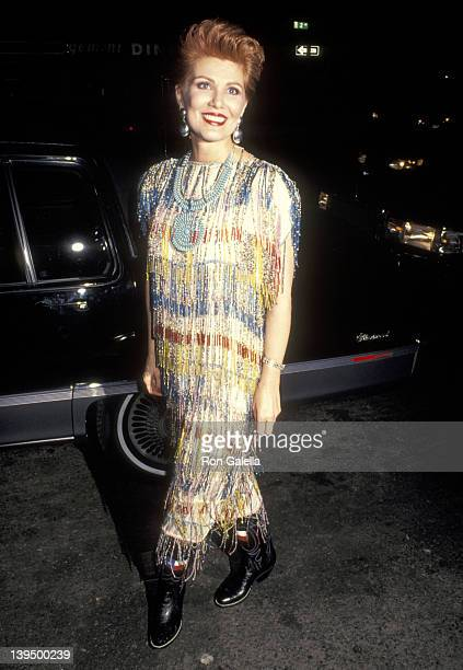Cosmetic entrepreneur Georgette Mosbacher attends Literacy Volunteers of New York City's Second Annual Wild West Hoedown Benefit on November 26 1990...
