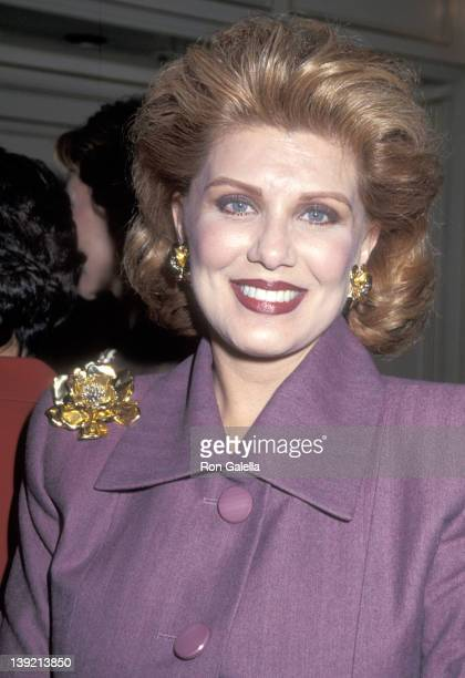Cosmetic entrepreneur Georgette Mosbacher attends the Advertising Age and Advertising Women of New York's First Annual Women to Watch Awards Luncheon...