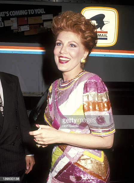 Cosmetic entrepreneur Georgette Mosbacher attends the Dance Theatre of Harlem's Spring Gala on May 1 1991 at the Manhattan Center Ballroom in New...