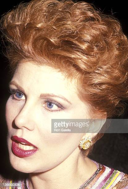 Cosmetic entrepreneur Georgette Mosbacher attends the Dance Theatre of Harlem's Spring Gala on May 1, 1991 at the Manhattan Center Ballroom in New...