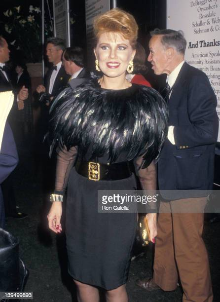 Cosmetic entrepreneur Georgette Mosbacher attends the Fete de Famille III Gala to Benefit the New York Presbyterian Hospital's AIDS Care Center on...