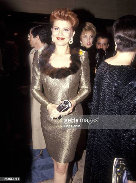 Cosmetic entrepreneur Georgette Mosbacher attends the New York City Ballet's 95th Season Opening Night Gala on November 19, 1991 at New York State...