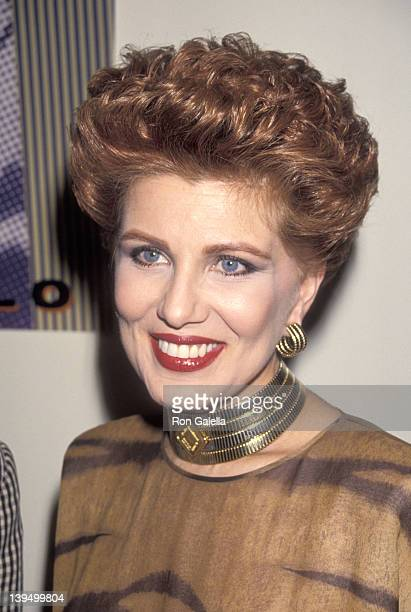 Cosmetic entrepreneur Georgette Mosbacher attends the Party to Celebrate Bob Colacello's Book 'Holy Terror Andy Warhol Close Up' on August 8 1990 at...
