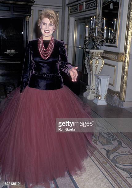 Cosmetic entrepreneur Georgette Mosbacher attends the Second Annual Red Ball to Benefit NYU Medical Center's Mary Lea Johnson Richards Organ...
