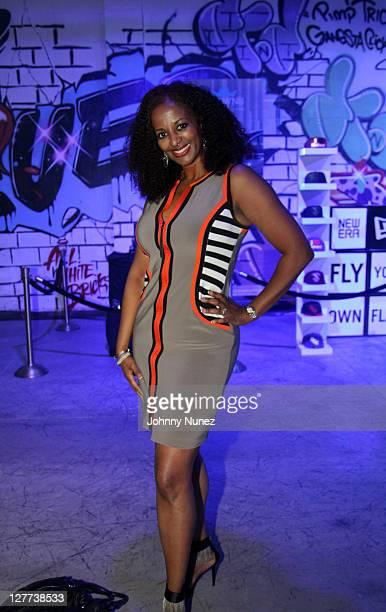 Cosmetic surgeon and founder of Opoulence Aesthetic Medicine Nedra Dodds attends a party at Da Playground on September 30 2011 in Atlanta Georgia
