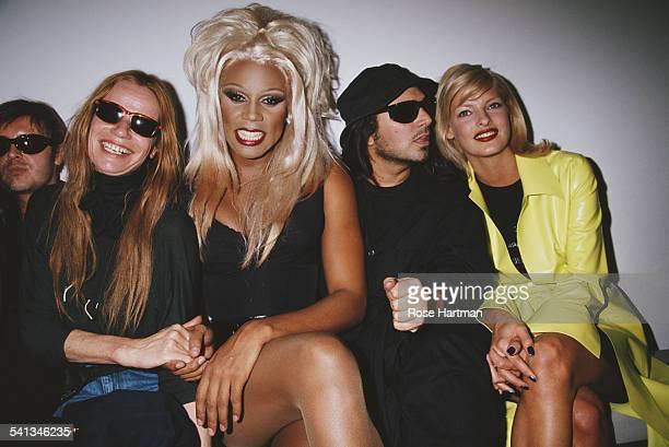 LR Cosmetics company founder Francois Nars German model and actress Veruschka von Lehndorff American actor model and recording artist RuPaul American...