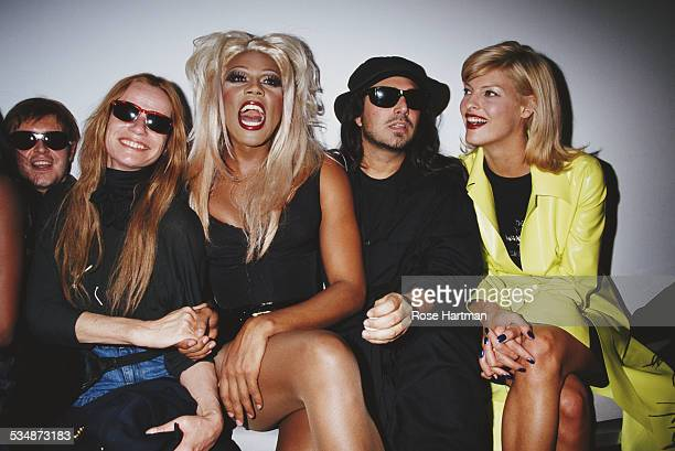 LR Cosmetics company founder François Nars German model and actress Veruschka von Lehndorff American actor model and recording artist RuPaul American...