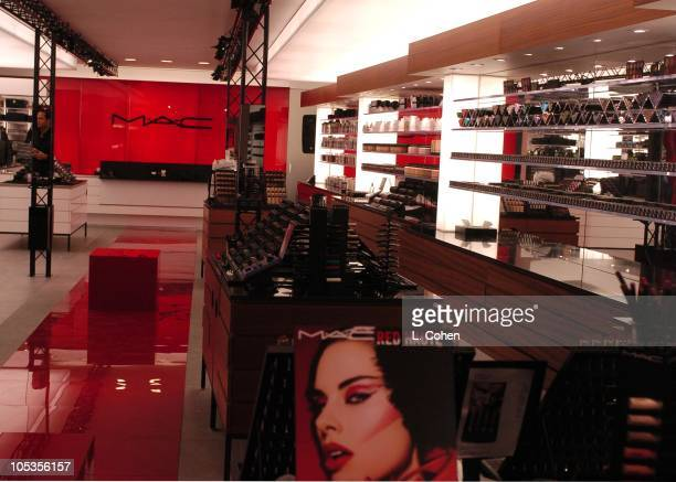 Cosmetics launches its latest Red Haute makeup collection at its newly redesigned Los Angeles store