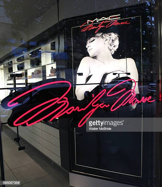 Cosmetics unveils the Marilyn Monroe Holiday 2012 Collection..The 30 piece collection consists of sultry eye shadows in sparkling shades of champagne...