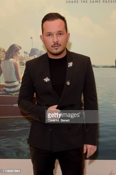 Cosmin Cernica attends the Fifth annual Newport Beach Film Festival UK Honours at The Langham Hotel on February 07 2019 in London England