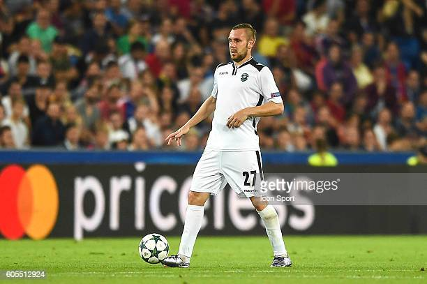 Cosmin Moti of Ludogorets during the Uefa Champions League match between Basel Fc and PFC Ludogorets Razgrad on September 13 2016 in Basel Switzerland