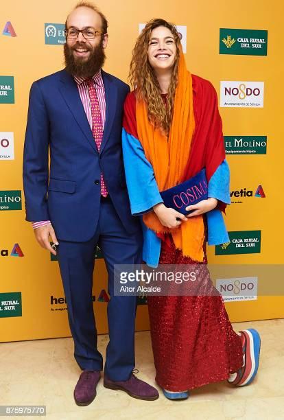 Cosmina Ramirez and Tristan Ramirez attend the SICAB Closing Gala 2017 on November 18 2017 in Seville Spain