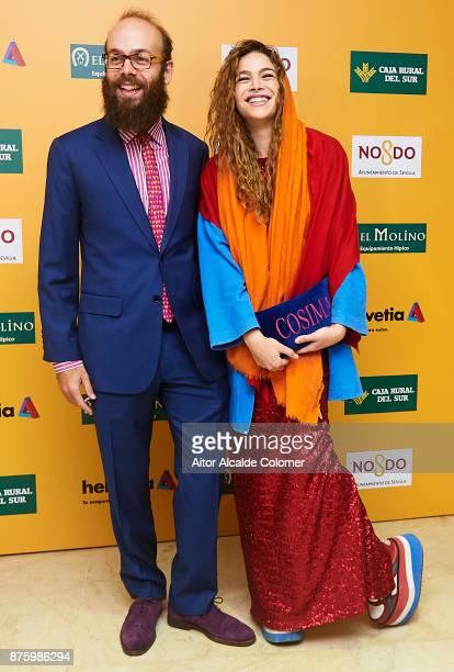 Cosmina Ramirez and Tristan Ramirez attends the SICAB Closing Gala 2017 on November 18 2017 in Seville Spain
