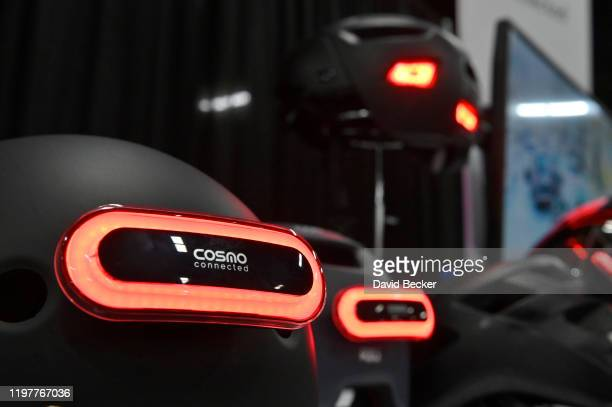 Cosmo Connect 's Cosmo Ride is displayed during a press event for CES 2020 at the Mandalay Bay Convention Center on January 5 2020 in Las Vegas...