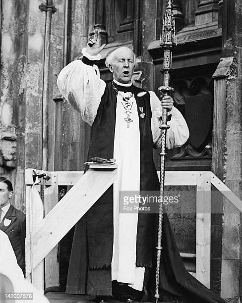 Cosmo Gordon Lang the Archbishop of Canterbury circa 1935