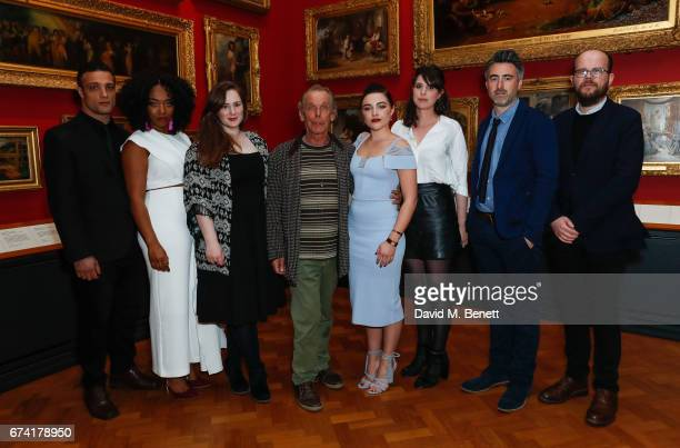 Cosmo Jarvis Naomi Ackie Fodhla Cronin O'Reilly Florence Pugh Alice Birch William Oldroyd and Nick Emerson attend a special screening of Lady Macbeth...