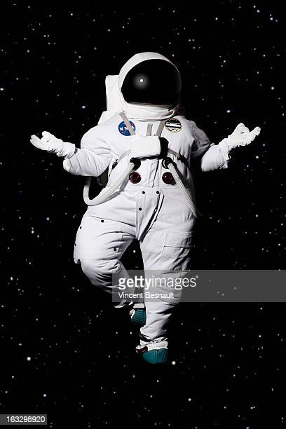 Cosmonaut in space