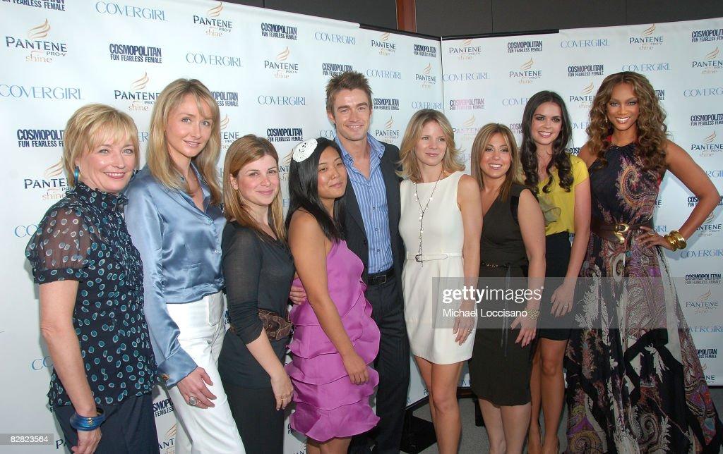2008 Cosmopolitan Fun Fearless Phenom Awards - Arrivals : News Photo