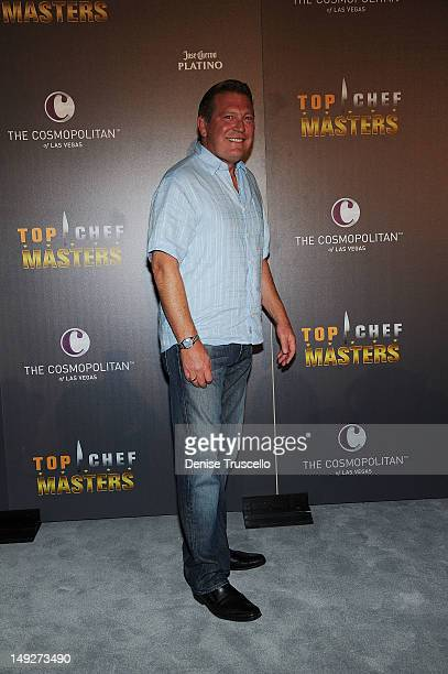 Cosmopolitan CEO John Unwin arrives at the 'Top Chef Masters' Season 4 Premiere Party at the Cosmopolitan Hotel in CityCenter on July 25 2012 in Las...