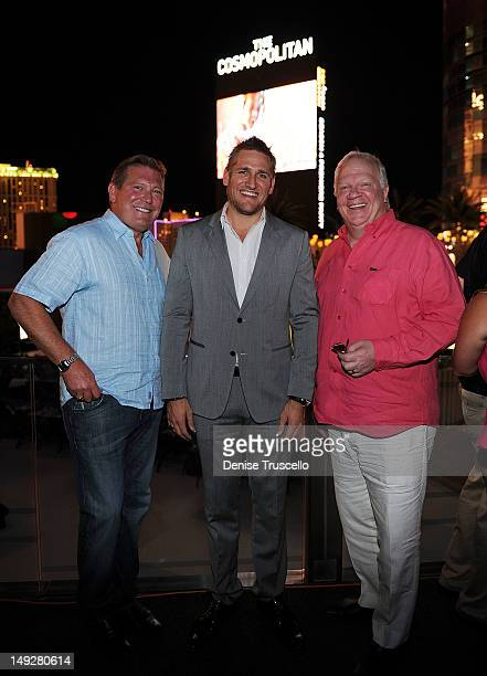 Cosmopolitan CEO John Unwin Curtis Stone and Cosmopolitan Chief Executive Officer Tom McCartney attend the 'Top Chef Masters' Season 4 Premiere Party...