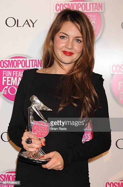 Cosmopolitan Ultimate Women Of The Year Awards, Banqueting House, Whitehall, London, Britain - 11 Nov 2009, Lacey Turner - Ultimate Tv Actress