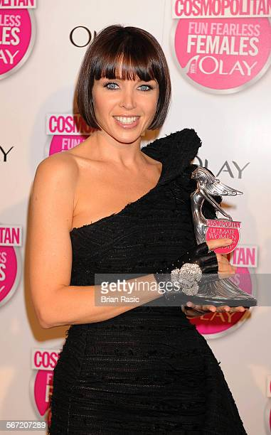 Cosmopolitan Ultimate Women Of The Year Awards, Banqueting House, Whitehall, London, Britain - 11 Nov 2009, Dannii Minogue - Ultimate Tv Personality