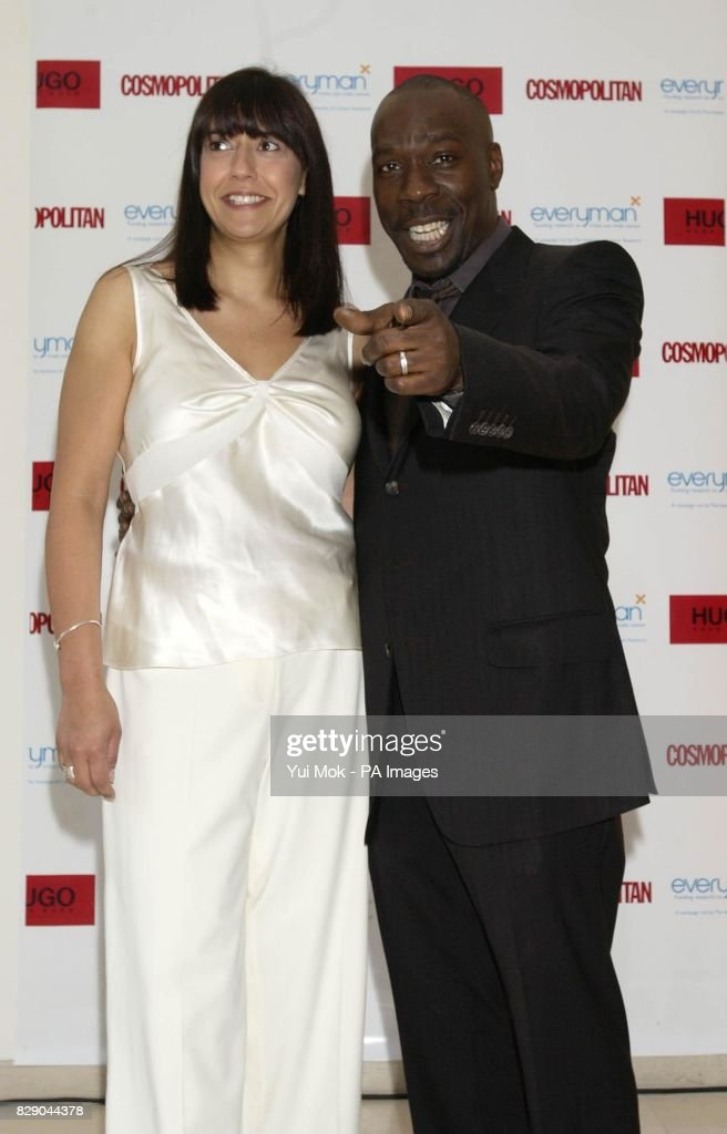 Cosmopolitan S Acting Editor Nina Ahmad And Actor Gary Beadle Arrive News Photo Getty Images