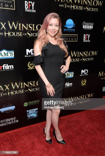 Cosondra Sjostrom attends a private screening of Max Winslow And The House Of Secrets at Landmark Theatre on June 18 2019 in Los Angeles California