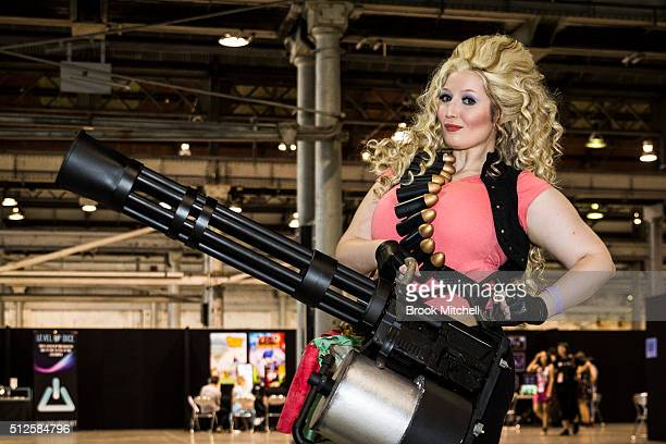 Cosplay at the GX Australia convention at Australian Technology Park on February 27 2016 in Sydney Australia The convention is the first Queer gaming...