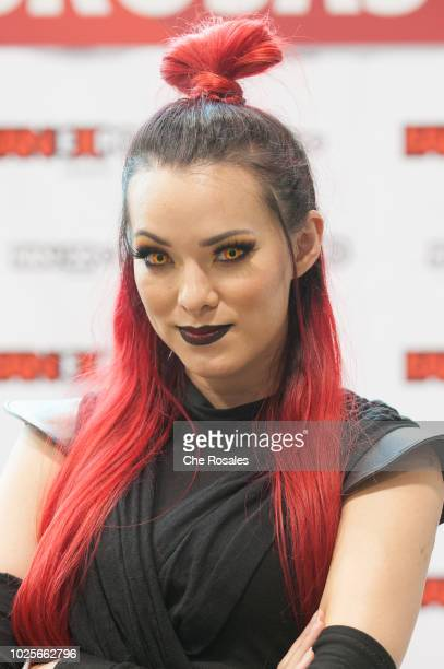 Cosplay celebrity Joanie Brosas attends the 2018 Fan Expo Canada at Metro Toronto Convention Centre on August 31 2018 in Toronto Canada
