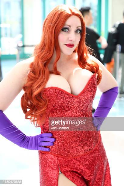 Cosplay character attends 2019 Los Angeles Comic-Con at Los Angeles Convention Center on October 11, 2019 in Los Angeles, California.