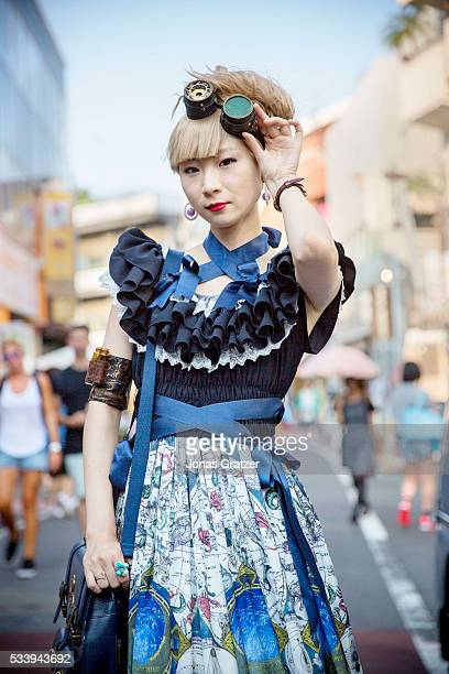 Cosplay characters converge on Harajuku Tokyo's fashion district
