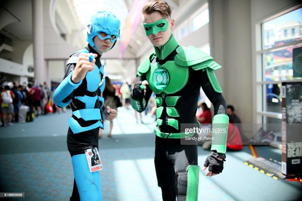Cosplay charactors at the San Diego Convention Center during Comic Con International on July 20, 2017 in San Diego, California. Comic Con International is North America's largest Comic convention featuring pop culture and entertainment elements across virtually all genres, including horror, animation, anime, manga, toys, collectible card games, video games, webcomics, and fantasy novels as well as movie premieres and actor panels.